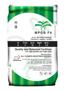 MPOB F4 fertilizer