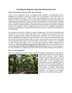 thumbnail of Correcting the Misquotes about Palm Oil from Slow    Food